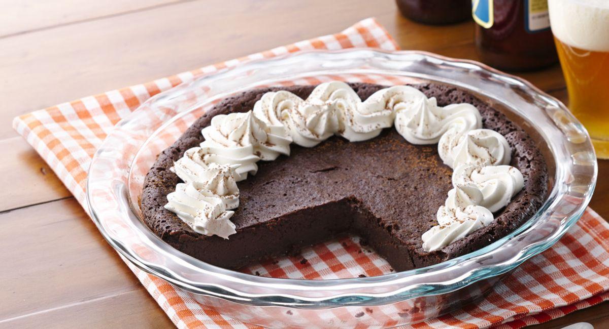 Flourless Chocolate Stout Cake
