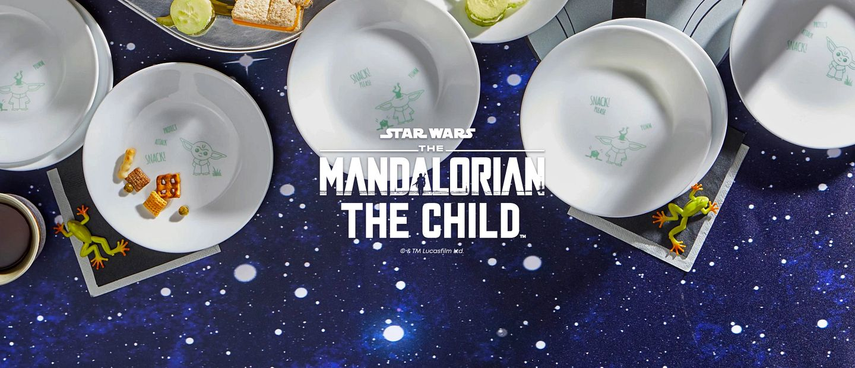 Mandalorian The Child Plates