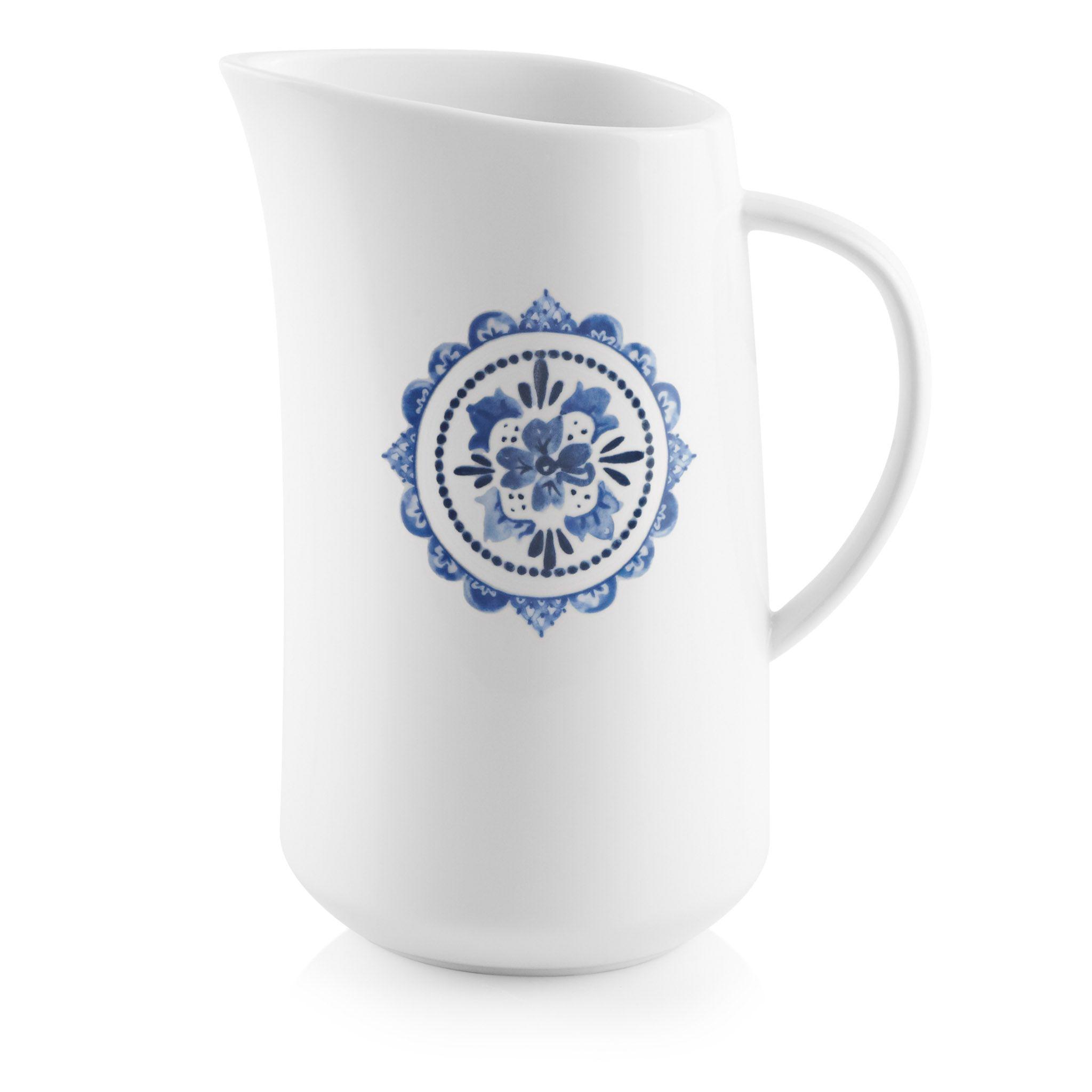 Portofino 2.5-quart Porcelain Pitcher