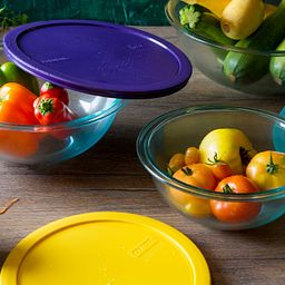 Smart Essentials Mixing Bowls with Vegetables.