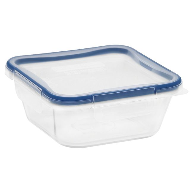 Total Solution Pyrex Glass Food Storage 4 Cup, Square
