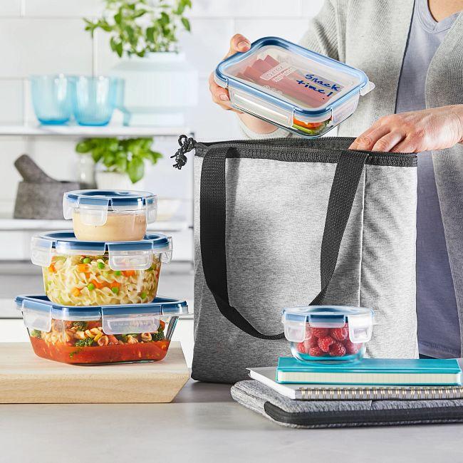FreshLock Plus™ Glass Storage with Microban 10-piece Set