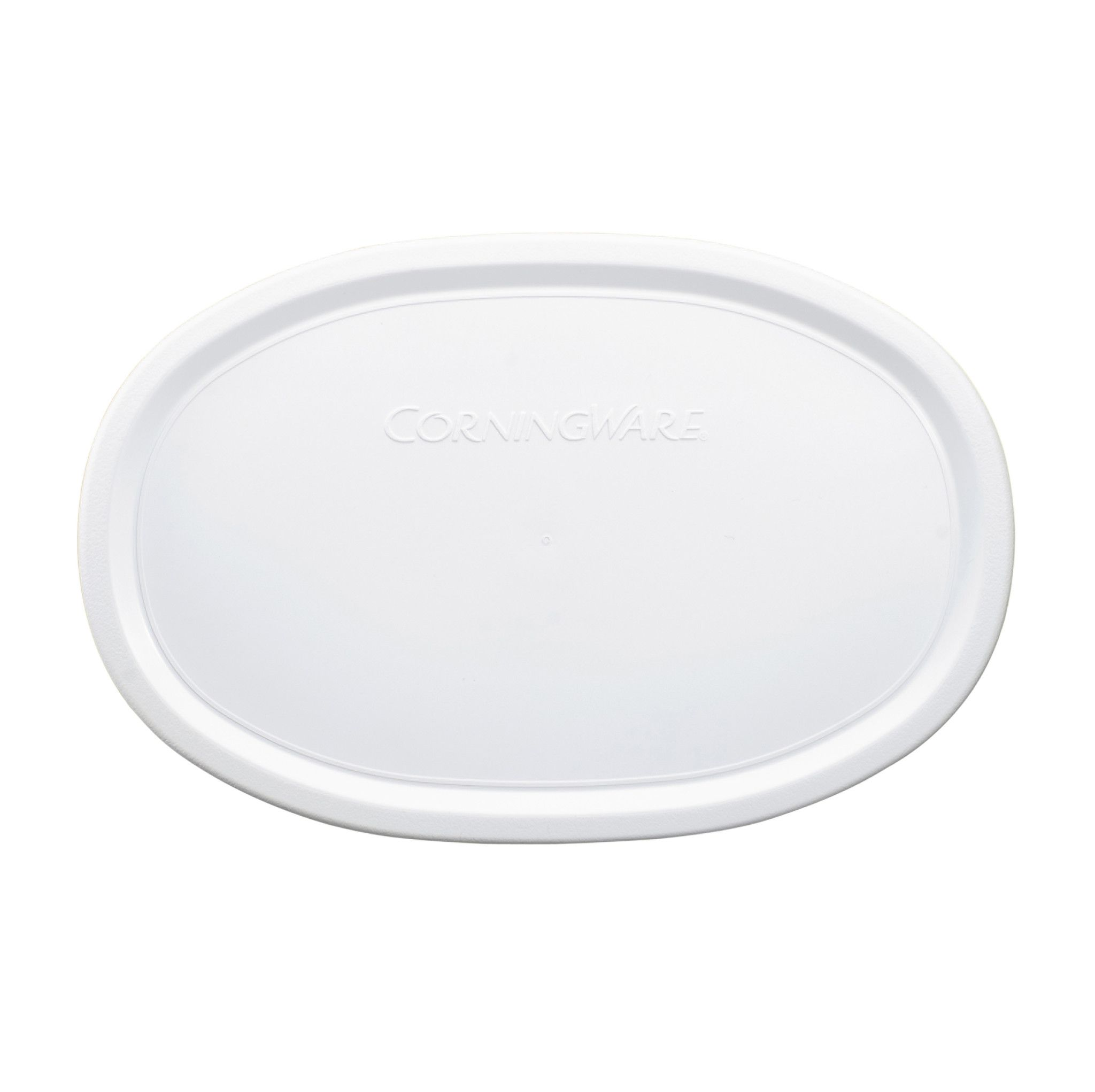 French White Plastic Lid for 23-ounce Baking Dish