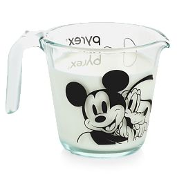 Mickey Mouse™ 2-cup Measuring Cup front side showing Mickey & Pluto's face