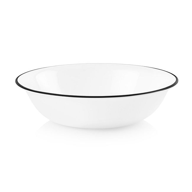 Inked Poppy 10-ounce Dip & Condiment Bowl