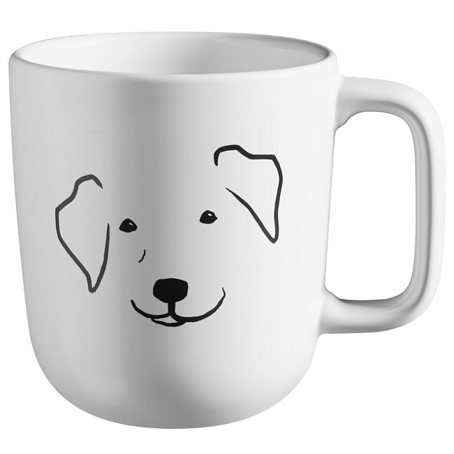 Livingware My Best Friend Max 12. 8-oz Stoneware Mug