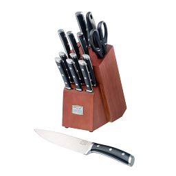 Damen™ 14-pc Block Set with knife in front