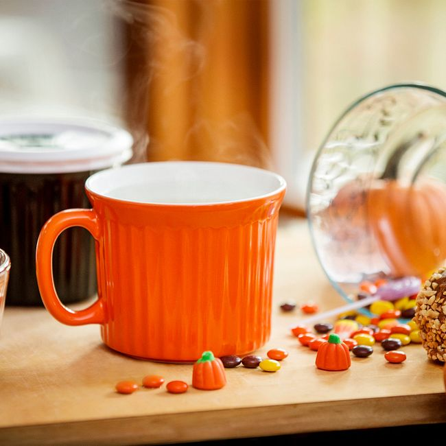 20-ounce Orange Meal Mug™ with Lid