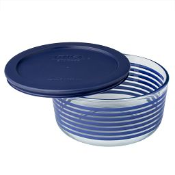 Simply Store 4 Cup Blue Lane Storage Dish w/ Lid
