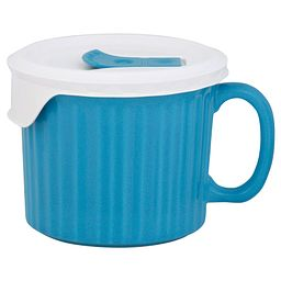 Colours® Pop-Ins® Pool 20-oz Mug with Lid on mug