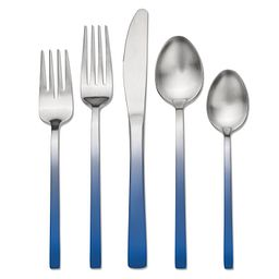 Skandia Biltmore Accents Blue 20-piece Flatware Set