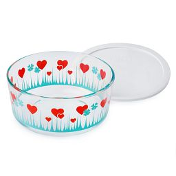 Simply Store® 7 Cup Lucky in Love Storage Dish w/ Lid