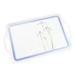 Coordinates® Shadow Iris Melamine Serving Tray