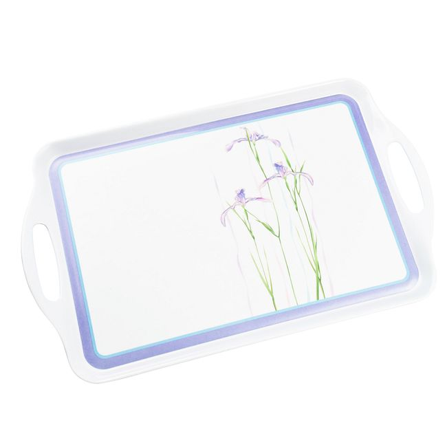 Shadow Iris Large Serving Tray