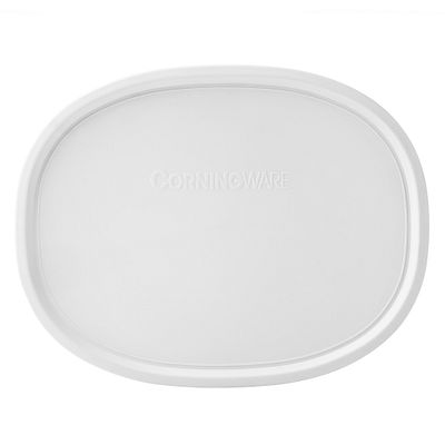Corningware French White 1.5-Qt Oval Plastic Lid