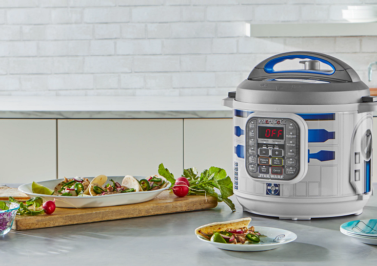 star wars instant pot on table