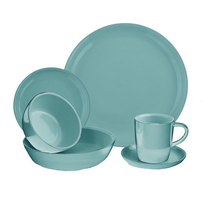 6-piece Dinnerware Set , Service for 1