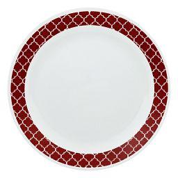 Livingware™ Crimson Trellis Dinner Plate