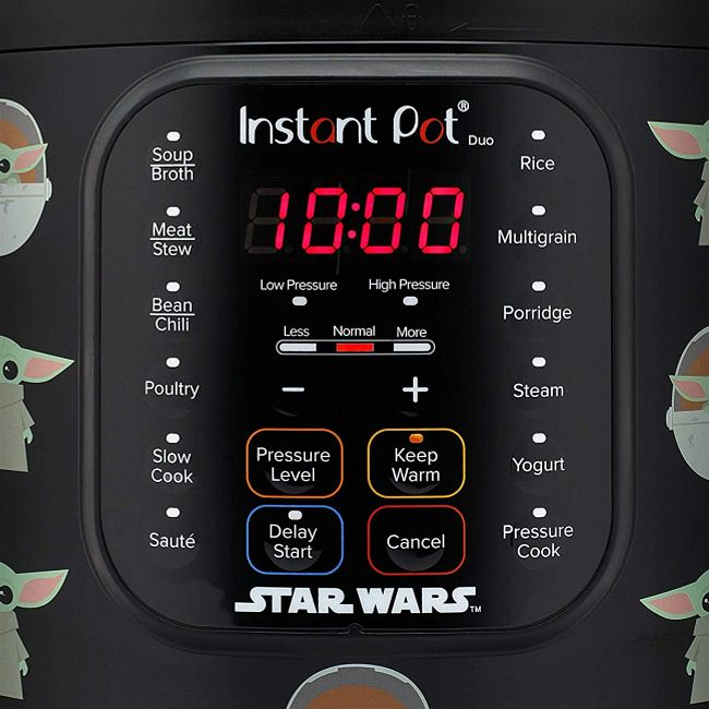 Star Wars™ Instant Pot® Duo™ 6-quart Pressure Cooker, The Child Little Bounty