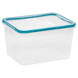 Total Solution™ Plastic Food Storage 15.89 Cup  Rectangle