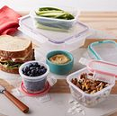 Airtight 38-piece Plastic Food Storage Container Set