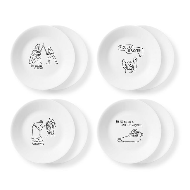 "6.75"" Appetizer Plates 8-pack: Star Wars™"