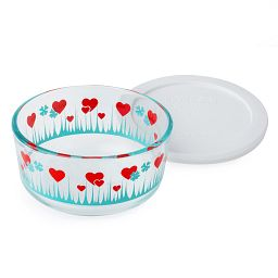 Simply Store® 2 Cup Lucky in Love Storage Dish w/ Lid