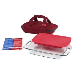 Portables® 4-pc Set  Red