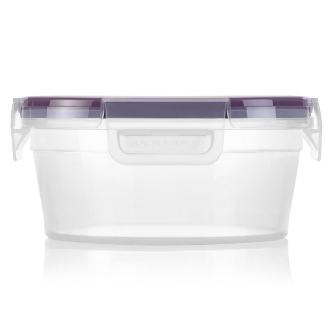 3.86-cup Plastic Food Storage Container