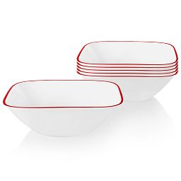 Chelsea Rose 22-ounce Cereal Bowl, 6-pk