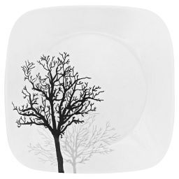 """Square™ Timber Shadows 9"""" Plate"""
