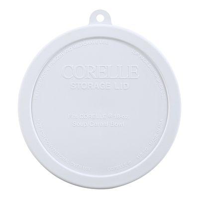 Corelle White Lid for 18-ounce Bowl