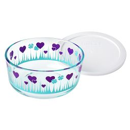 Midnight Garden 4-cup Storage Dish with Lid