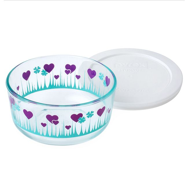 Simply Store 2 Cup Midnight Garden Storage Dish w/ Lid