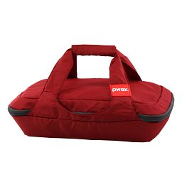 Portables® 3-qt Oblong Bag  Red