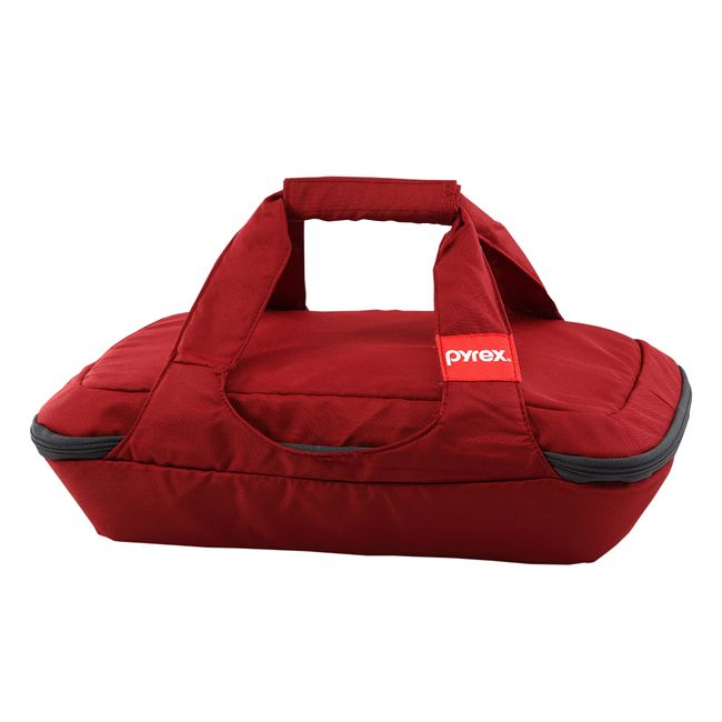 Portables 3-qt Oblong Bag, Red