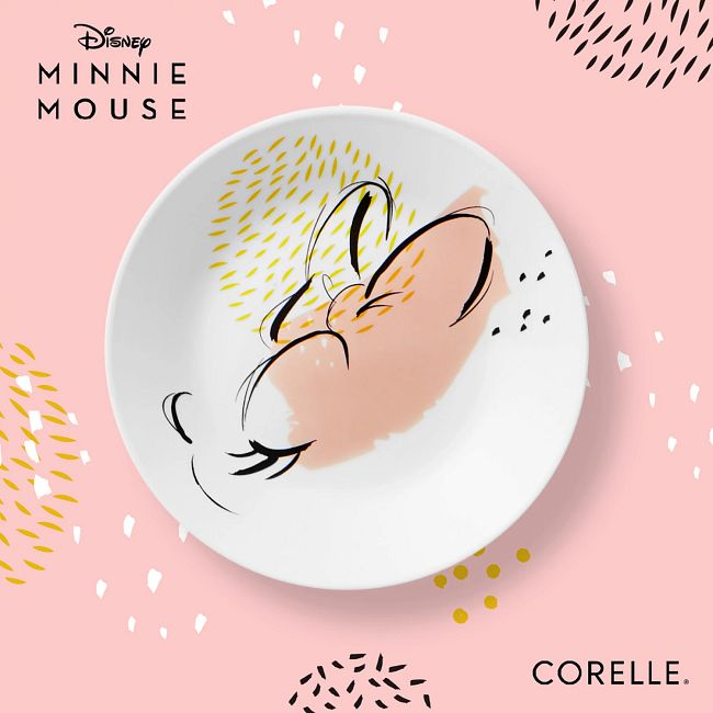 12-piece Dinnerware Set, Service for 4, Minnie Mouse