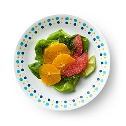"Key West 8.5"" Salad Plate on table"