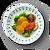 """Key West 8.5"""" Salad Plate on table"""