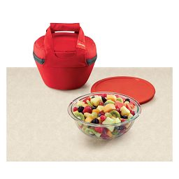 Portables and bowl with Fruit
