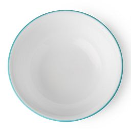 Livingware™ Santorini Sky 18-oz Bowl Top View