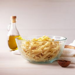 Sculpted Mixing Bowl with Pasta