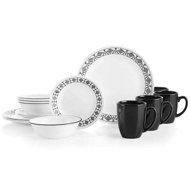 Cusco 16-piece Dinnerware Set, Service for 4