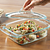 Easy Grab 2-qt Casserole with Food Inside