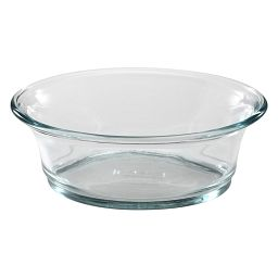 3.5-cup Oval Glass Baking Dish