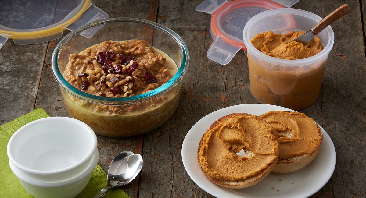 5-Minute On the Go Pumpkin Snacks