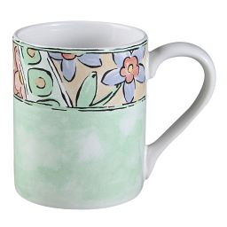 Watercolors 11-ounce Stoneware Mug