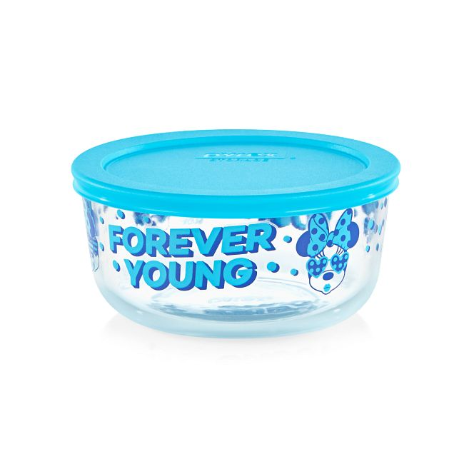 4-cup Decorated Storage: Minnie Mouse - Forever Young