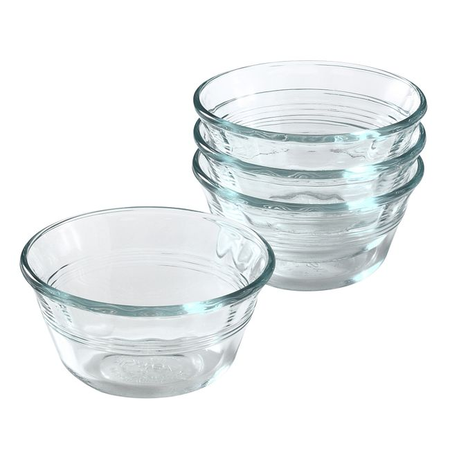 4-piece 6-ounce Custard Cup Set