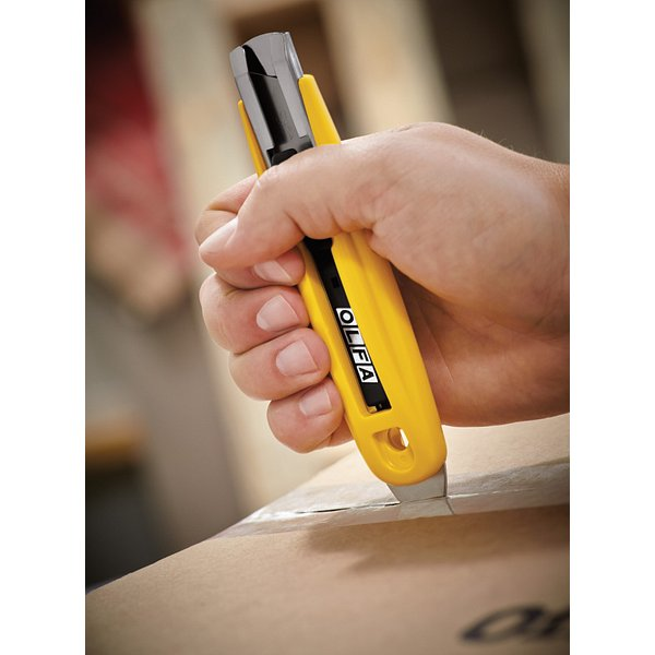 Self-Retracting Safety Knife with Tape Slitter (SK-9)